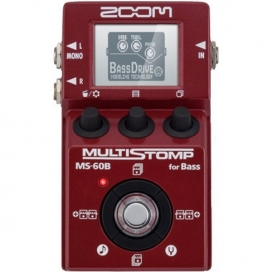 ZOOM MS-60B MULTISTOMP PEDALE MULTIEFFETTO X BASSO