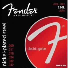 FENDER 250L NICKEL - SET DI CORDE