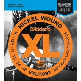 D'ADDARIO EXL110BT BALANCED REGULAR LITE 10/46