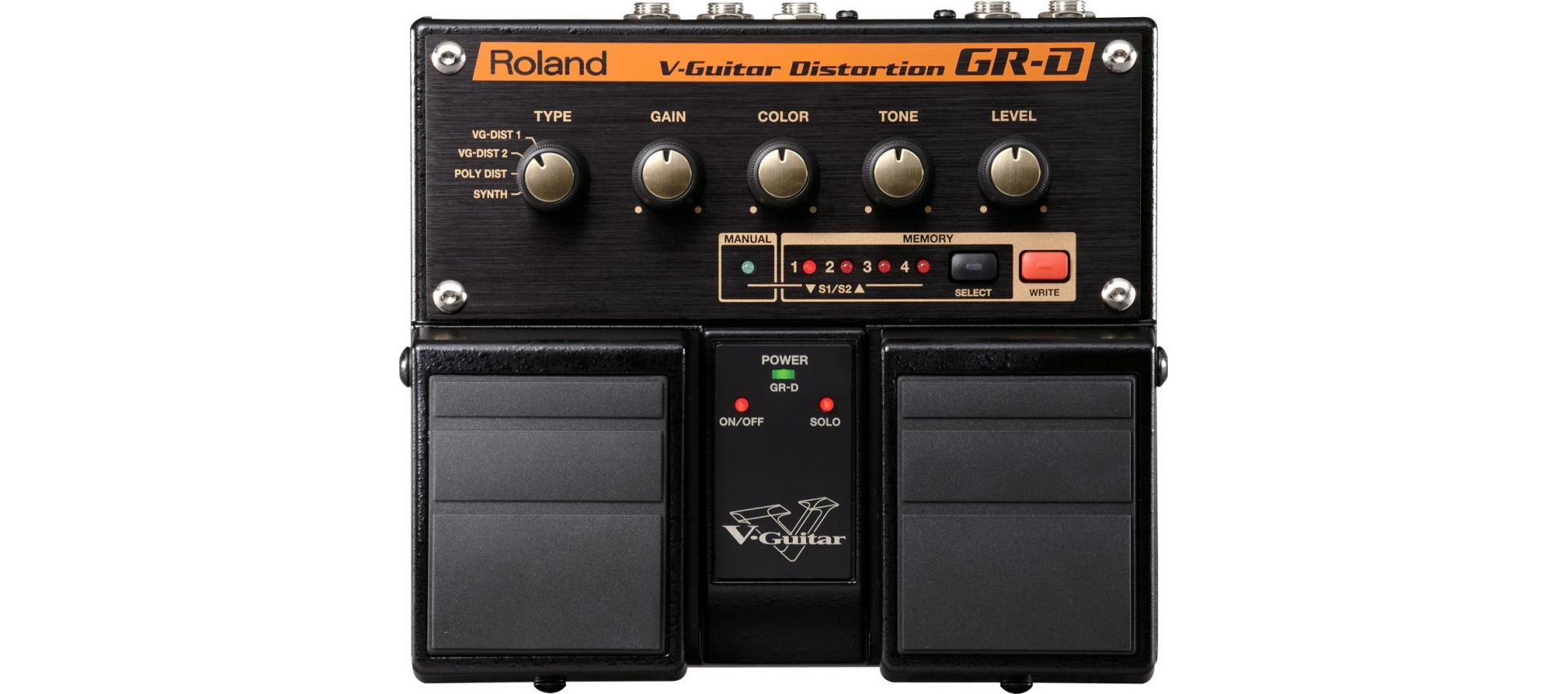 roland grd v guitar distortion pedal pedali per chitarra. Black Bedroom Furniture Sets. Home Design Ideas