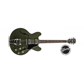 GIBSON ES-335 CHRIS CORNELL OLIVE DRAB GREEN LIMITED EDITION