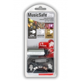 ALPINE MUSIC SAFE PRO SILVER EARPLUG PROTECTION SYSTEM