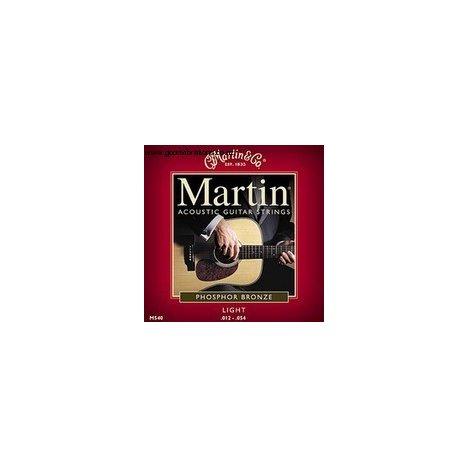 MUTA SET DI CORDE MARTIN M-540 12 54 PHOSPHOR BRONZE M 540 CHITARRA ACUSTICA
