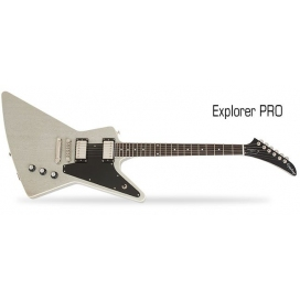 EPIPHONE LIMITED EDITION EXPLORER PRO TV SILVER