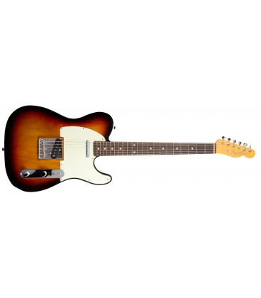 FENDER TELECASTER VINTAGE 62 BOUND EDGE 3 COLOR SUNBURST MADE IN JAPAN