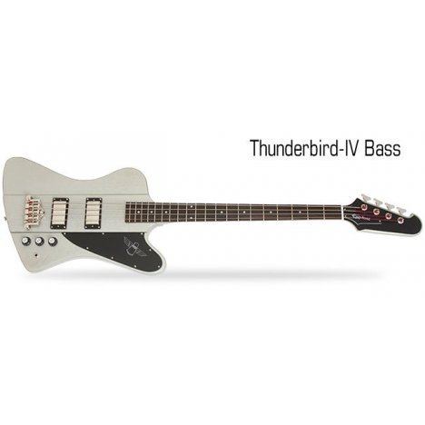 EPIPHONE LIMITED EDITION THUNDERBIRD IV TV SILVER