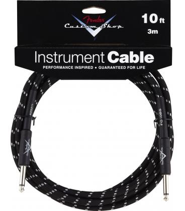 FENDER INSTRUMENT CABLE 3 MT CUSTOM SHOP BLACK TWEED