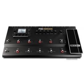 LINE6 POD HD500X PEDALBOARD 12 PEDALI