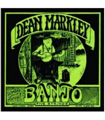 DEAN MARKLEY 2302 SA2307 LT BANJO 5 CORDE 009