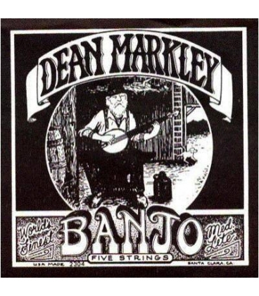 DEAN MARKLEY 2304 SA2308 ML BANJO 5 CORDE 010