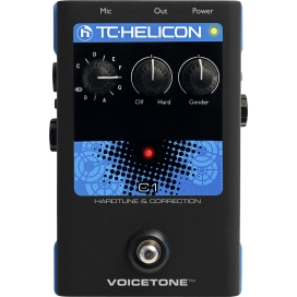 TC HELICON VOICE TONE C1 HARDTUNE AND CORRECTION
