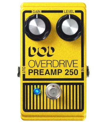 how to connect dod overdrive preamp 250 to digital amplifier