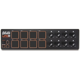 AKAI LPD8 CONTROLLER USB/MIDI