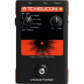 TC HELICON VOICE TONE R1 VOCAL TUNED REVERB