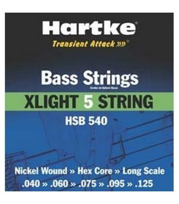 HARTKE HSB540 5CORDE XLIGHT 40/125