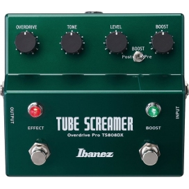 IBANEZ TS808DX TUBE SCREAMER + BOOSTER