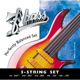 F BASS 5 STRING SET