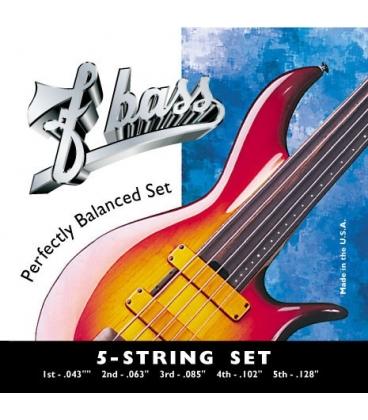 F BASS 5 STRING SET