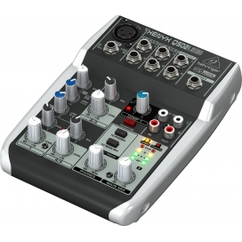 BEHRINGER Q502USB MIXER 5 IN XENYX PREAMP CON USB