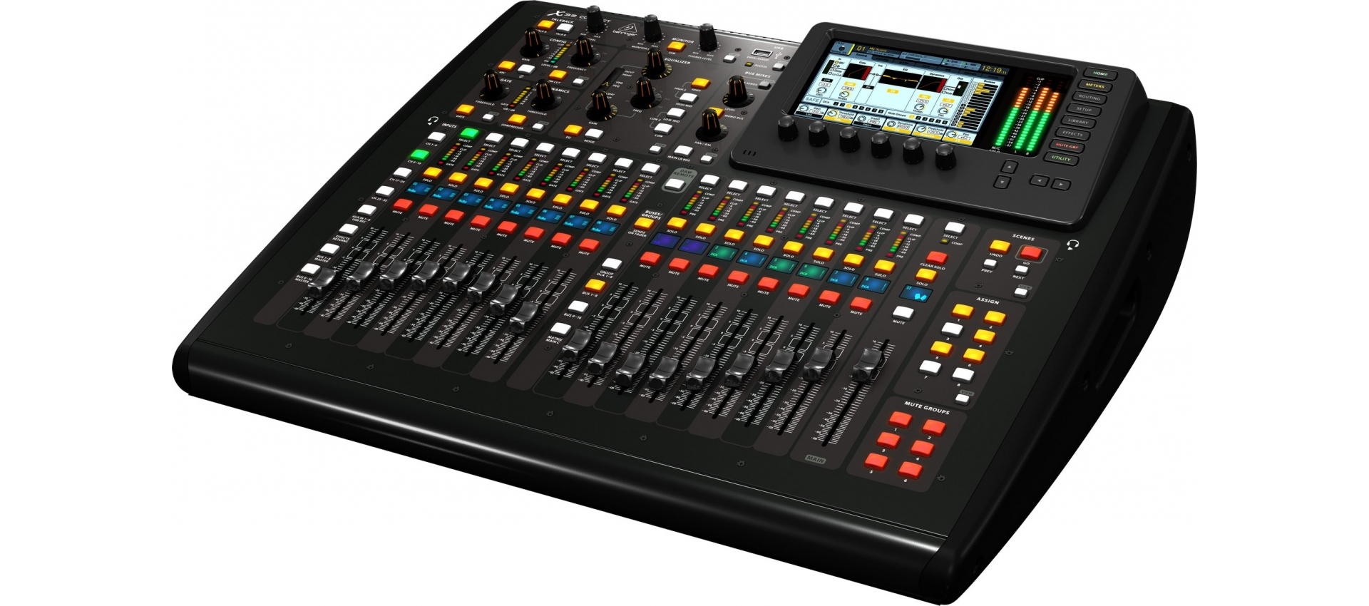 behringer x32 compact mixer 32 ch 16 bus live record. Black Bedroom Furniture Sets. Home Design Ideas