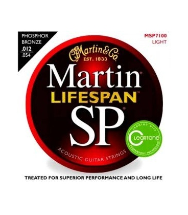 MARTIN MSP7100 LIFESPAN 12-54 SET ACUSTICA