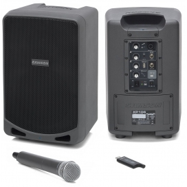 SAMSON XP106W BT PA PORTATILE 100W BLUETOOTH+WIRELESS MIC
