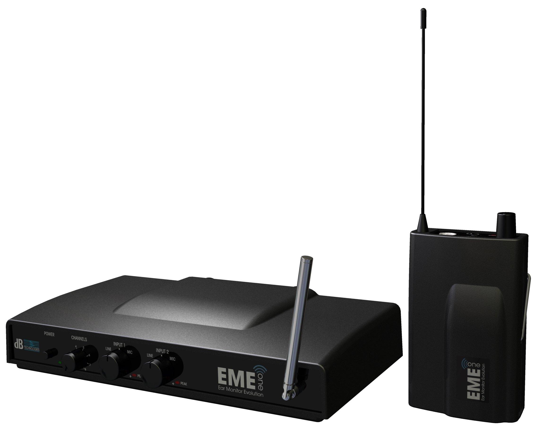 Db technologies eme one sistema in ear monitor luckymusic