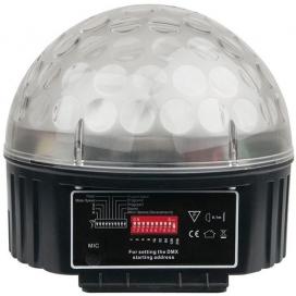 SHOWTEC DISCO STAR 3X3W RGB LEDS DMX CONTROL 43088