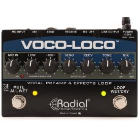 RADIAL VOCO LOCO VOCAL PREAMP EFFECT LOOP