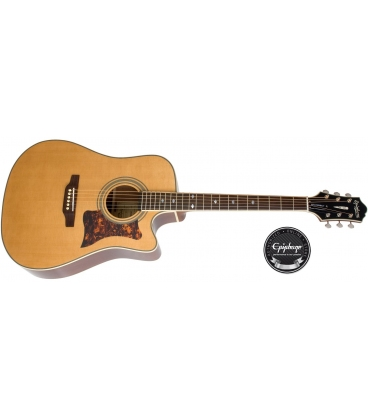 EPIPHONE DR-500MCE ACOUSTIC ELECTRIC NATURAL