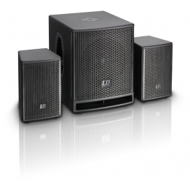 LD SYSTEMS DAVE 10G3 ACTIVE SUB + SAT SYSTEM