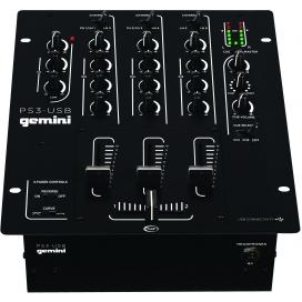 GEMINI PS-3 USB DJ MIXER
