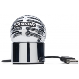 SAMSON METEORITE CHROME USB STUDIO MIC