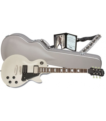 EPIPHONE LTD ED TOMMY THAYER SPACEMAN LES PAUL STANDARD SILVER FLAKE