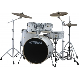 YAMAHA SBP2F5PWH7 STAGE CUSTOM DRUM KIT PURE WHITE