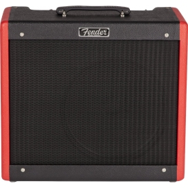 FENDER HOT ROD DELUXE FSR BLACK RED