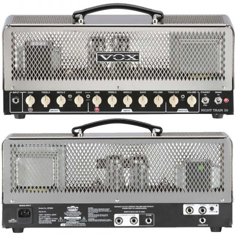 VOX NT50H G2 NIGHTRAIN HEAD 50W