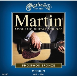 MARTIN M550 MEDIUM PHOSPHOR BRONZE
