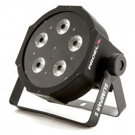 PROEL PLLEDSPAR5 SLIM PAR 5 LED RGBW