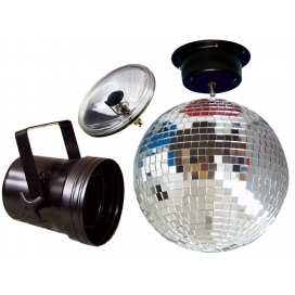 AMERICAN DJ MBS-300 MIRROR BALL SET 30