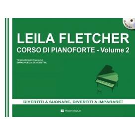 FLETCHER CORSO DI PIANOFORTE VOL. 2 + CD MB369