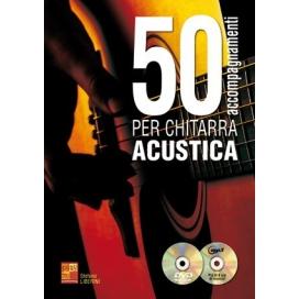 LIBERINI 50 ACCOMPAGNAMENTI PER CHITARRA ACUSTICA + CD E DVD ML3756