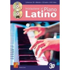 CUTULI INIZIAZIONE PIANOFORTE LATINO 3D + CD + DVD ML3755
