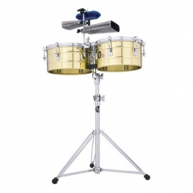 """LP 256B TIMBALES SOLID BRASS 13/14"""""""