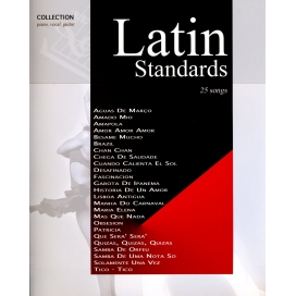 AAVV LATIN STANDARDS COLLECTION