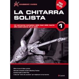 VARINI LA CHITARRA SOLISTA VOLUME 1 VIDEO ON WEB ML3740