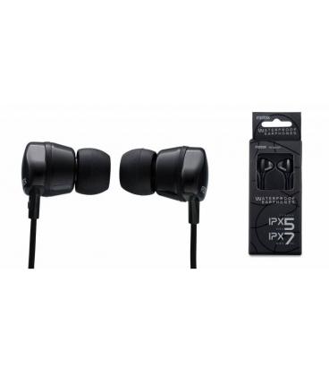 FOSTEX TE-02WP BLACK IN EAR WATERPROOF HEADPHONES