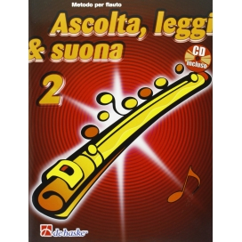 KASTELEIN/BROERS ASCOLTA LEGGI SUONA FLAUTO V. 2 + CD DHK456