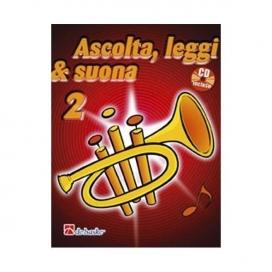 KASTELEIN/OLDENKAMP ASCOLTA LEGGI SUONA - TROMBA VOLUME 2 +CD