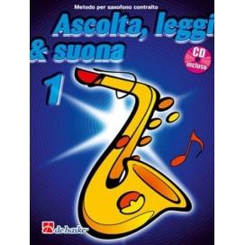 KASTELEIN/OLDENKAMP ASCOLTA LEGGI SUONA SAXOFONO CONTRALTO V. 1 + CD DHK449